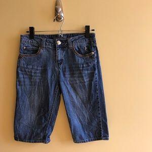 Baby Phat Bermuda Shorts Jeans